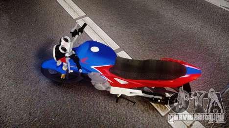 Honda Twister 2014 для GTA 4 вид справа