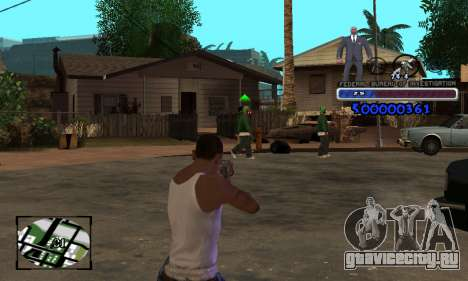 FBI C-HUD для GTA San Andreas третий скриншот
