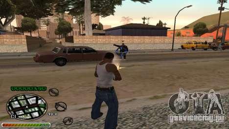C-HUD Wonderful для GTA San Andreas
