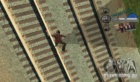 C-HUD Rifa для GTA San Andreas третий скриншот