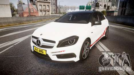 Mersedes-Benz A45 AMG PJs4 для GTA 4
