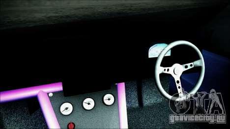 Toyota Mark 2 JZX81 для GTA San Andreas вид справа