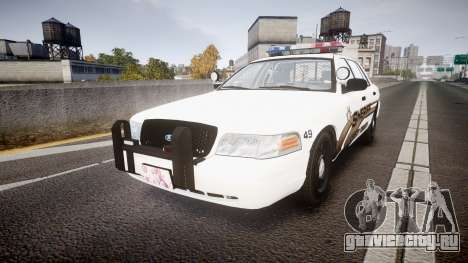 Ford Crown Victoria LCSO [ELS] MX7000 для GTA 4