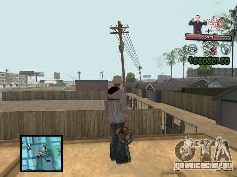 C-Hud Yakuza II для GTA San Andreas второй скриншот
