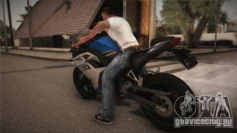Kawasaki Ninja ZX25R для GTA San Andreas вид слева