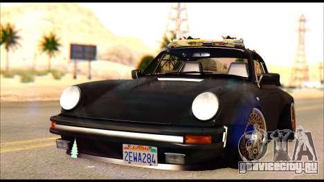 Porsche 911 1980 Winter Release для GTA San Andreas