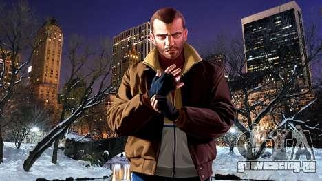 Зимние загрузочные экраны для GTA 4