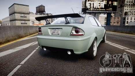 Declasse Premier Sport X для GTA 4 вид сзади слева