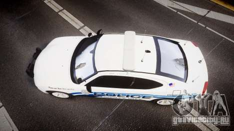 Dodge Charger 2006 LCPD [ELS] для GTA 4 вид справа