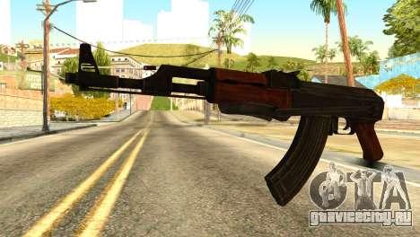 AK47 from Global Ops: Commando Libya для GTA San Andreas