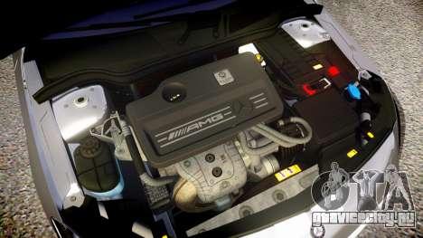 Mersedes-Benz A45 AMG PJs1 для GTA 4 вид изнутри