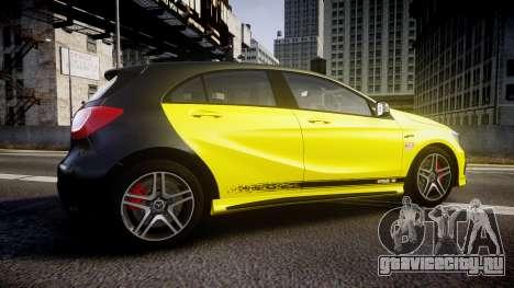 Mersedes-Benz A45 AMG PJs1 для GTA 4 вид слева