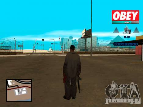 C-HUD Obey для GTA San Andreas