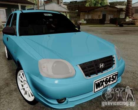 Hyundai Accent 2004 для GTA San Andreas