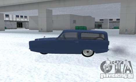 Reliant Supervan III для GTA San Andreas вид справа