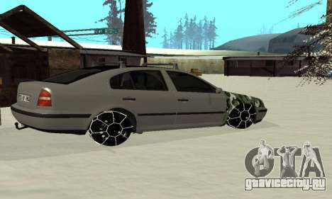 Skoda Octavia Winter Mode для GTA San Andreas