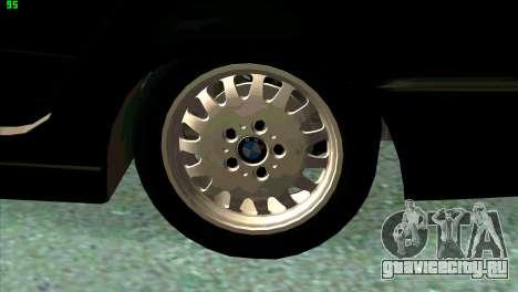 BMW 730i для GTA San Andreas двигатель