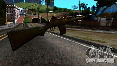 New Rifle для GTA San Andreas второй скриншот
