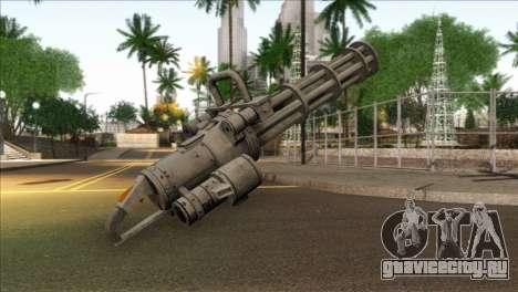 Minigun from GTA 5 для GTA San Andreas второй скриншот