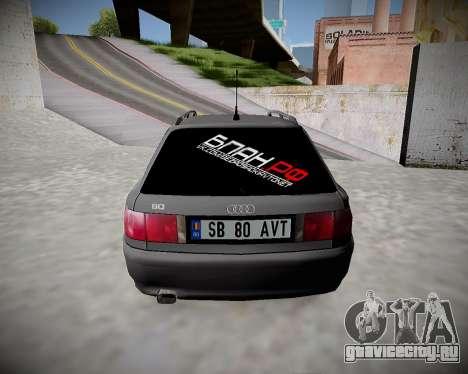 Audi 80 B4 Avant БПАН.РФ для GTA San Andreas вид справа