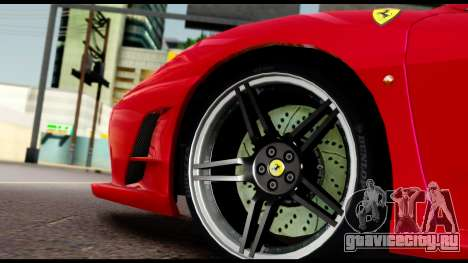 Ferrari F430 Scuderia для GTA San Andreas вид сверху