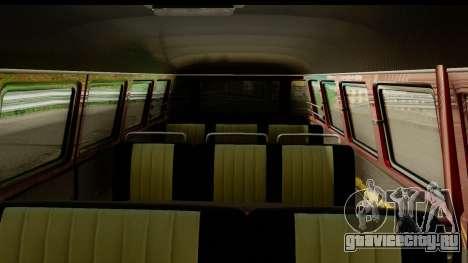 Volkswagen Transporter T1 Stance для GTA San Andreas вид сзади