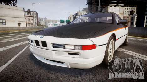 BMW E31 850CSi 1995 [EPM] Carbon для GTA 4