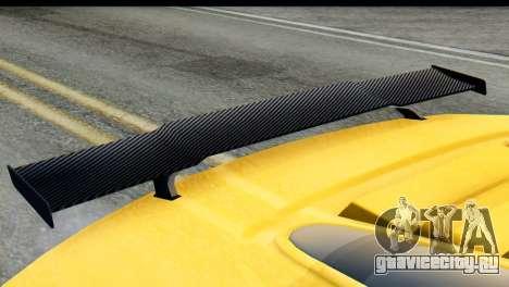 GTA 5 Obey 9F Cabrio IVF для GTA San Andreas вид справа