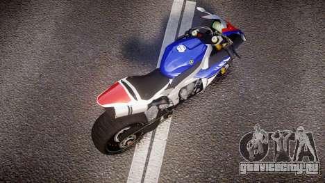 Yamaha YZF-R1 Custom PJ2 для GTA 4 вид справа
