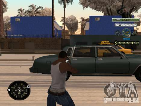 C-HUD Army для GTA San Andreas второй скриншот
