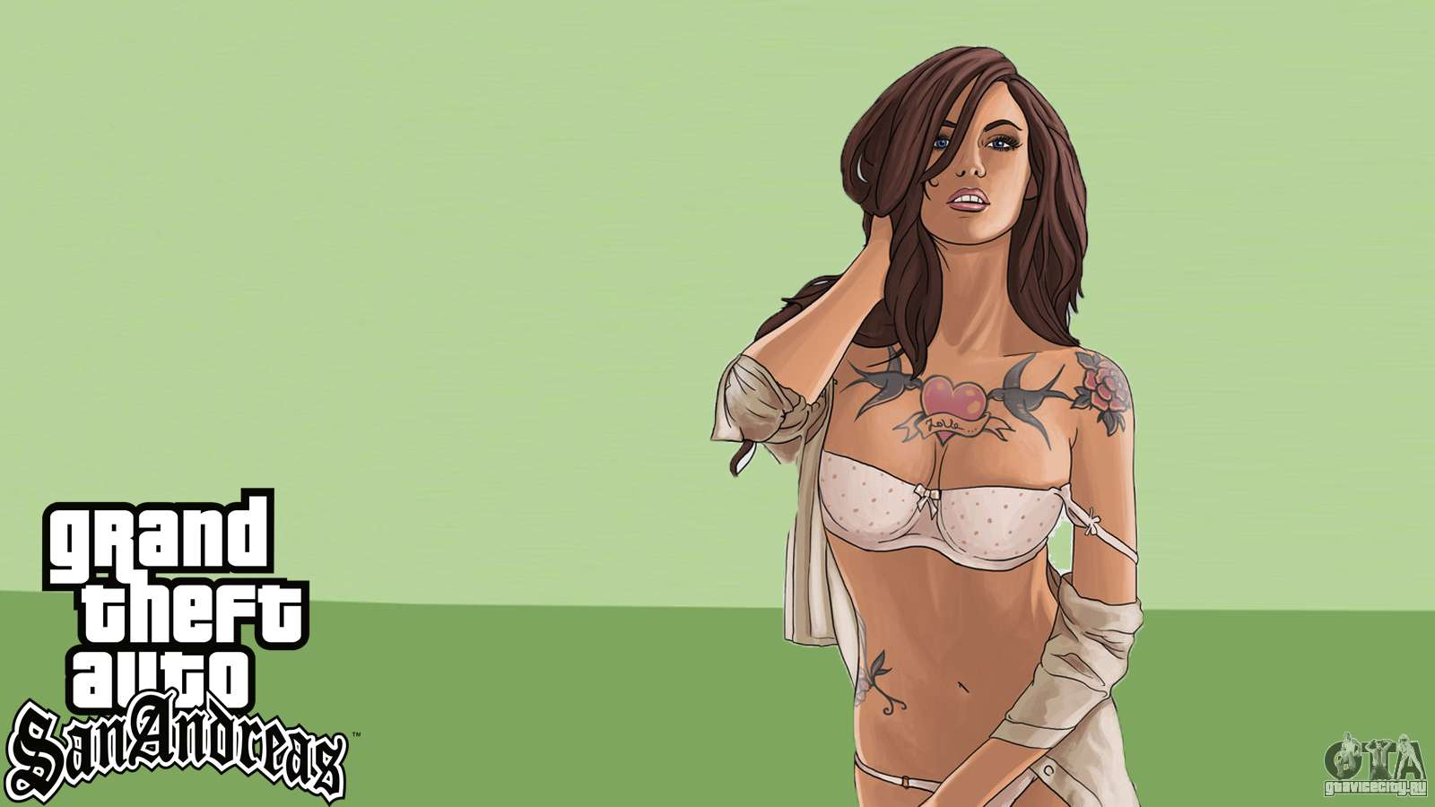 Nude gta sanandreas girl wallpapers nude scenes