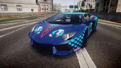Lamborghini Aventador 2012 [EPM] Miku 3