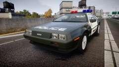 DeLorean DMC-12 [Final] Police