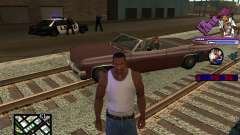 C-HUD TAWER для GTA San Andreas