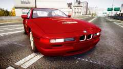 BMW E31 850CSi 1995 [EPM] Castrol Red для GTA 4