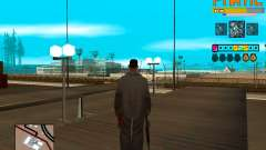 C-HUD Fnatic для GTA San Andreas