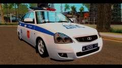 ВАЗ 2172 Police для GTA San Andreas