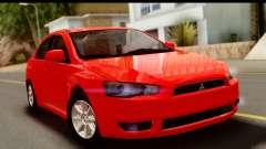 Mitsubishi Lancer X Stock для GTA San Andreas