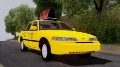 Ford Crown Victoria NY Taxi для GTA San Andreas