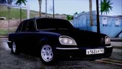 ГАЗ 31105 Черный для GTA San Andreas