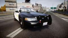 Ford Crown Victoria 2011 LASD [ELS] для GTA 4