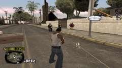C-HUD Sigara для GTA San Andreas