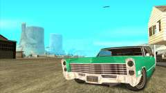 Cadillac DeVille Lowrider 1967 для GTA San Andreas