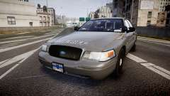 Ford Crown Victoria Sheriff K-9 Unit [ELS] для GTA 4
