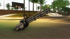Minigun from GTA 5 для GTA San Andreas