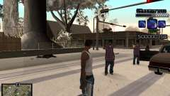 С-HUD GHETTO для GTA San Andreas
