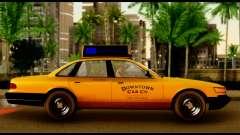 GTA 4 Vapid Stanier Downtown Cab для GTA San Andreas