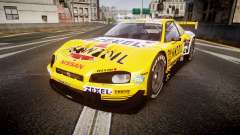 Nissan Skyline R34 2003 JGTC Pennzoil для GTA 4