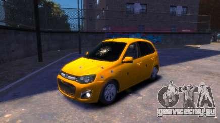 Lada Kalina 2 для GTA 4