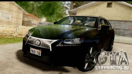 Lexus GS350 Indonesian Police для GTA San Andreas